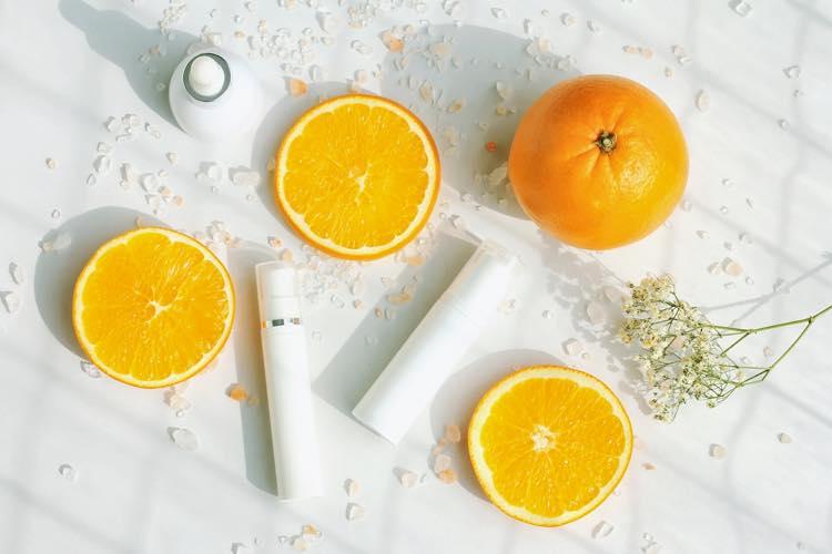 ビタミンCが豊富なオレンジの画像