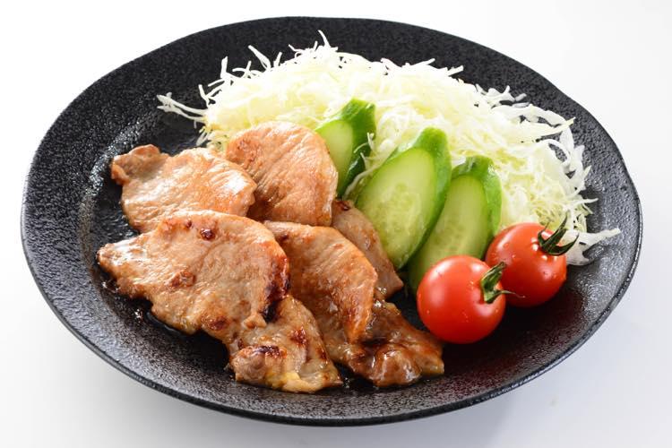 ビタミンB1を豊富に含む豚の生姜焼き
